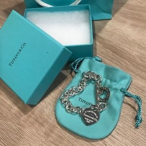 Brand new Tiffany's toggle heart bracelet